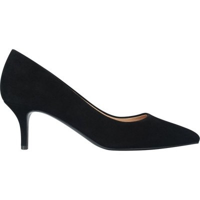 リネアペレ Linea レディース ヒール キトゥンヒール シューズ・靴 Kitten Heel Shoes Black Suede