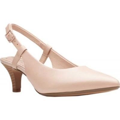 クラークス Clarks レディース サンダル・ミュール シューズ・靴 Linvale Loop Slingback Blush Leather