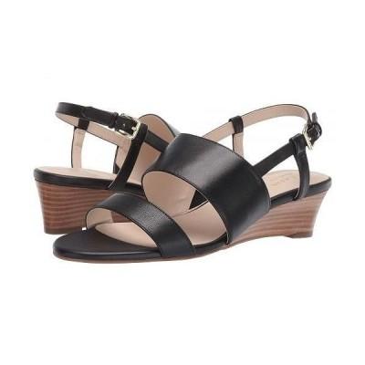 Cole Haan コールハーン レディース 女性用 シューズ 靴 ヒール Annabel Grand Wedge Sandal - Black Leather