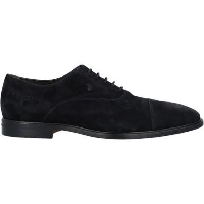 トッズ TOD'S メンズ シューズ・靴 laced shoes Black