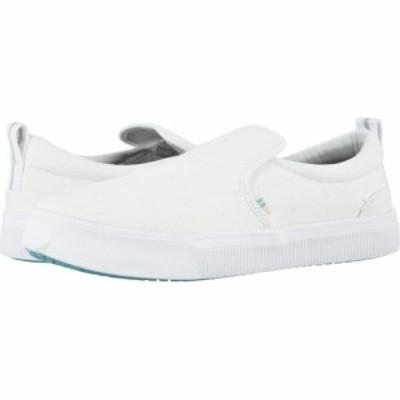 トムス TOMS メンズ スリッポン・フラット シューズ・靴 TRVL LITE Slip-On White