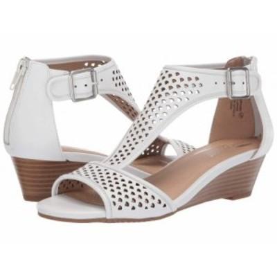 Aerosoles エアロソールズ レディース 女性用 シューズ 靴 ヒール Sapphire White Leather【送料無料】
