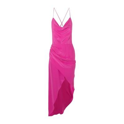 ハニー HANEY ミニワンピース&ドレス フューシャ 4 シルク 100% ミニワンピース&ドレス