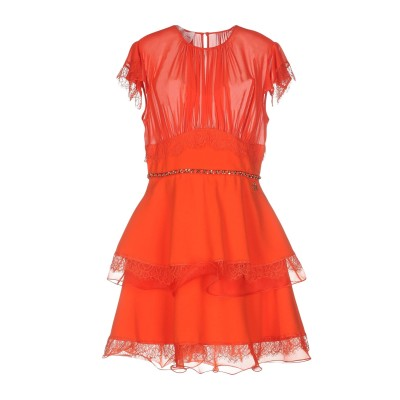 ELISABETTA FRANCHI ミニワンピース&ドレス レッド 38 ポリエステル 100% / ナイロン ミニワンピース&ドレス