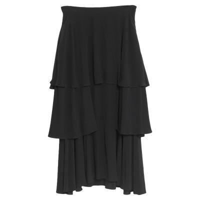 ステラ マッカートニー STELLA McCARTNEY ロングスカート ブラック 38 シルク 100% ロングスカート
