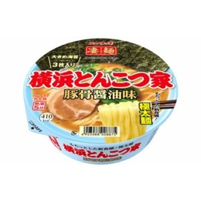 ニュータッチ 凄麺 横浜とんこつ家 117g×1ケース/12個(012) 『HSH』