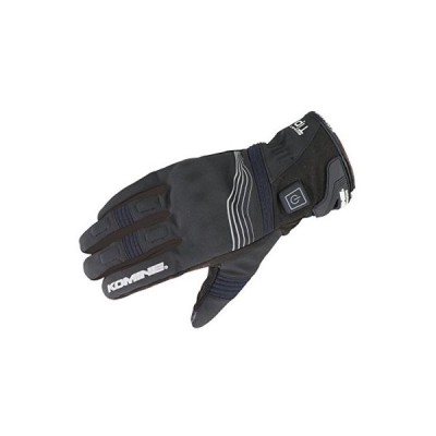 コミネ(KOMINE) EK-202 プロテクトエレクトリックグローブショート12V Black/L Protect E-Gloves Short 12V 08-202
