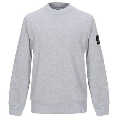 ベルナ BERNA スウェットシャツ グレー S コットン 100% スウェットシャツ