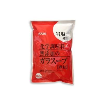 ユウキ食品 化学調味料無添加のガラスープ 700g  顆粒