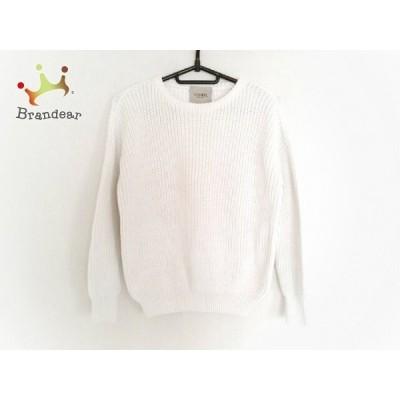 フォンデル VONDEL 長袖セーター サイズS レディース 白 新着 20200422