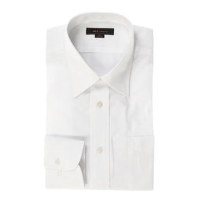 形態安定レギュラーフィット レギュラーカラー長袖ビジネスドレスシャツ/ワイシャツ