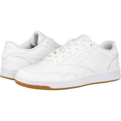 リーボック Reebok レディース スニーカー シューズ・靴 Club Memt White/White/Reebok Rubber Gum 01