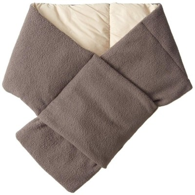 [ムーンバット]  ダウンフリース(ポケッタブル・リバーシブル) 手洗い可 チャコールグレー 日本 全長:約80cm 幅:約13cm 収納サイズ:約131