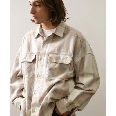 シャツ ブラウス ▽BIG MAC×FREAK'S STORE/ビッグマック ビッグシルエットチェックシャツ/シャツブルゾン