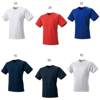 エスエスケイ野球 メンズ レディース クルーネックTシャツ 野球ウェア ベースボール トップス 半袖 合宿 トレーニング BT2250