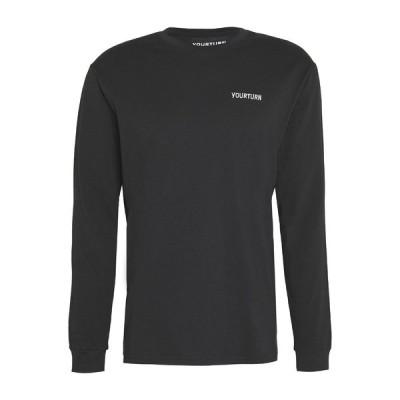 ユアターン カットソー メンズ トップス Long sleeved top - black