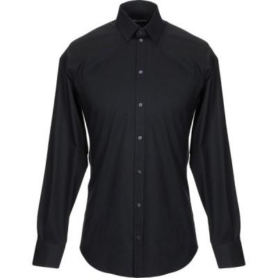 ドルチェ&ガッバーナ DOLCE & GABBANA メンズ シャツ トップス Solid Color Shirt Black
