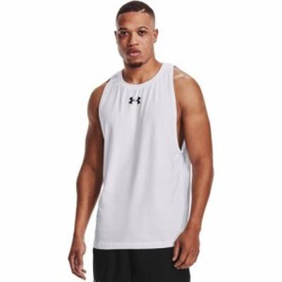 (取寄)アンダーアーマー メンズ ベースライン コットン バスケットボール タンク UNDER ARMOUR Men's Baseline Cotton Basketball Tank W