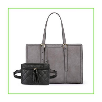 ECOSUSI Laptop Tote Bag with Fanny Pack【並行輸入】【新品】