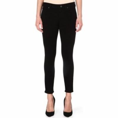 ペイジ PAIGE レディース ジーンズ・デニム ボトムス・パンツ verdugo crop skinny mid-rise jeans Black overdye
