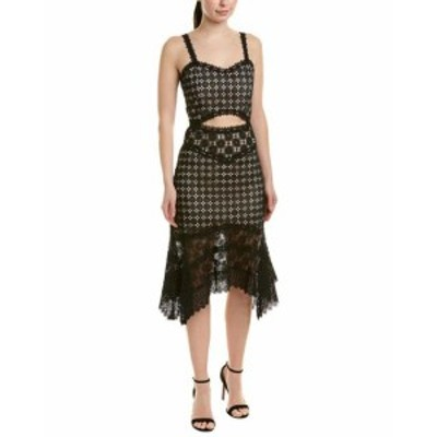 Alice + Olivia アリス+オリビア ファッション ドレス Alice + Olivia Tamika Cutout Cocktail Dress