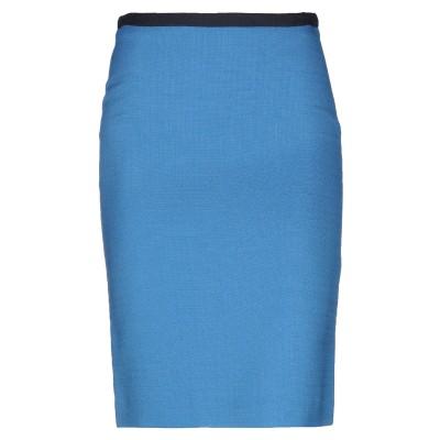 ポール・スミス PAUL SMITH ひざ丈スカート アジュールブルー 40 レーヨン 98% / ポリウレタン 2% ひざ丈スカート