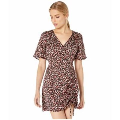 サンクチュアリー レディース ワンピース トップス Wild One Cinch Dress Mod Cheetah