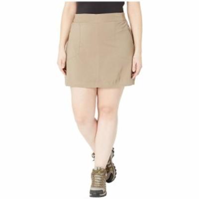 コロンビア Columbia レディース ミニスカート 大きいサイズ スコート スカート plus size bryce canyon skort Truffle