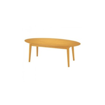 代引き不可 オフィス・施設向け家具 ローテーブル 120×60×45cm ナチュラル UFT-RW1260-NA   4549081841233