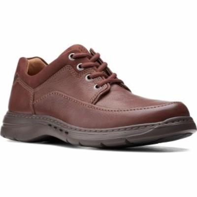 クラークス CLARKS メンズ 革靴・ビジネスシューズ ダービーシューズ シューズ・靴 Unstructured Brawley Moc Toe Derby Mahogany Tumble