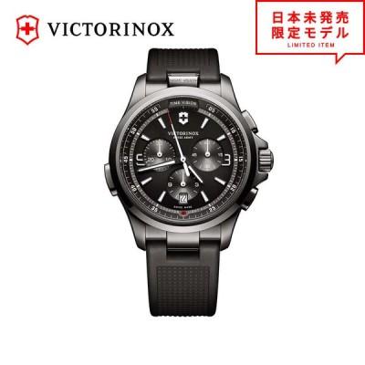 Victorinox Swiss Army ビクトリノックス スイスアーミー メンズ 腕時計 リストウォッチ 241731 ブラック 時計 日本未発売 当店1年保証 最安値挑戦中