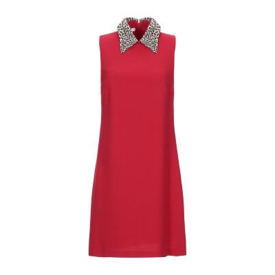 TENAX ミニワンピース&ドレス レッド 44 ポリエステル 96% / ポリウレタン 4% ミニワンピース&ドレス