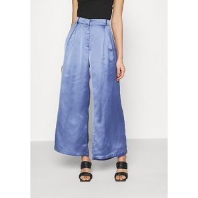 ヌー イン レディース カジュアルパンツ ボトムス PALAZZO PANTS - Trousers - blue blue