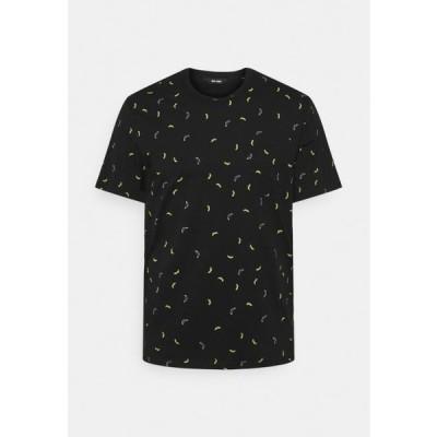 メンズ ファッション ONSPROVE DITSY TEE - Print T-shirt - black