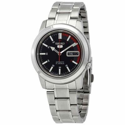 セイコー 腕時計 Seiko Series 5 Automatic Black Dial メンズ Watch SNKK31J1