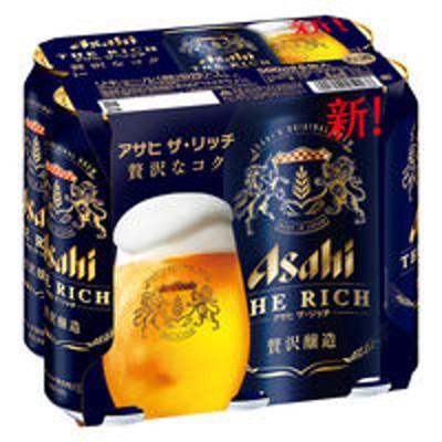 アサヒビール新ジャンル 第3のビール アサヒザリッチ 500ml 1パック(6本入) 缶