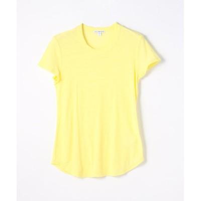【トゥモローランド】 スラブジャージー クルーネックTシャツ WUA3037 レディース 22イエロー系 0(S) TOMORROWLAND