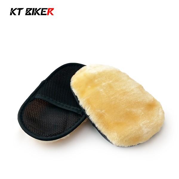 【KT BIKER】 仿羊毛手套 羊毛洗車手套  自助洗車 洗車工具 洗車手套 〔CWT012〕