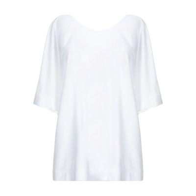SLOWEAR T シャツ ホワイト S コットン 100% T シャツ