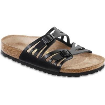 ビルケンシュトック Birkenstock レディース サンダル・ミュール シューズ・靴 Granada Birkibuc Black