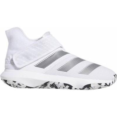 アディダス レディース スニーカー シューズ adidas Harden B/E 3 Basketball Shoes White/Black