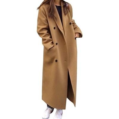 ロングコート レディース 無地 チェスターコート ベーシック 通勤 ラシャコート ファッション 無地 コート(s2012251439)