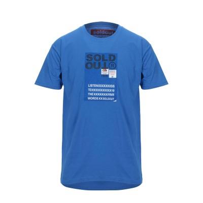 SOLD OUT FRVR T シャツ ブルー M コットン 100% T シャツ