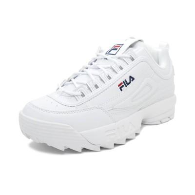 スニーカー フィラ FILA ディスラプター2 ホワイト メンズ レディース シューズ 靴