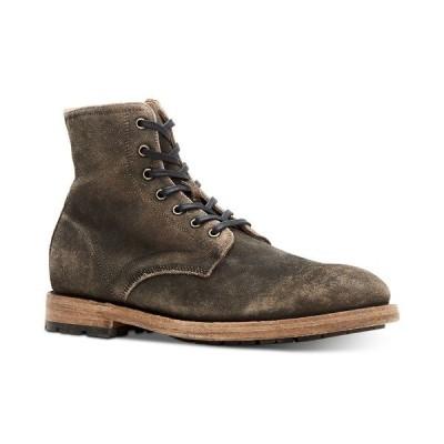 フライ ブーツ&レインブーツ シューズ メンズ Men's Bowery Lace-Up Boots Faded Black