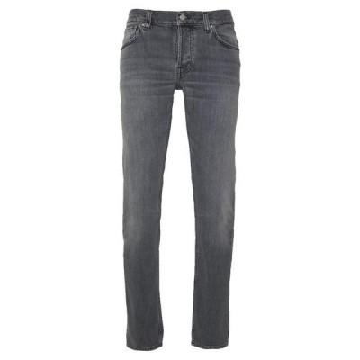 ヌーディージーンズ メンズ ファッション GRIM TIM - Slim fit jeans - pale grey