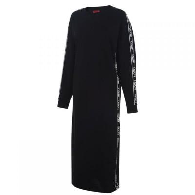 ヒューゴ ボス HUGO レディース ワンピース ワンピース・ドレス Nuery Tape Dress Black