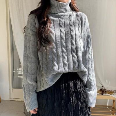 ENVYLOOK レディース ニット/セーター Humming turtleneck knit