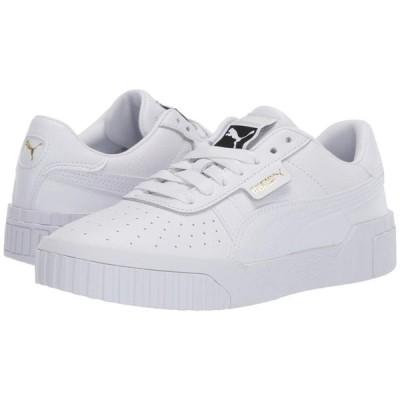 プーマ PUMA レディース スニーカー シューズ・靴 Cali Puma White/Puma White