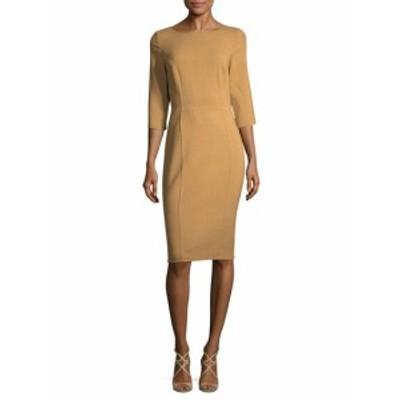 キャロライナヘレラ レディース ワンピース 3/4 Sleeve Sheath Dress